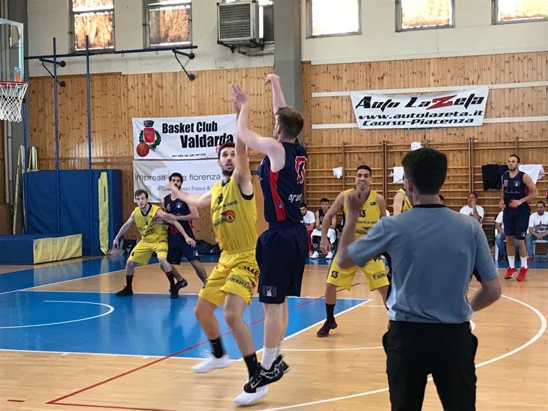 Sfortunata sconfitta del Bologna Basket 2016 con Fiorenzuola
