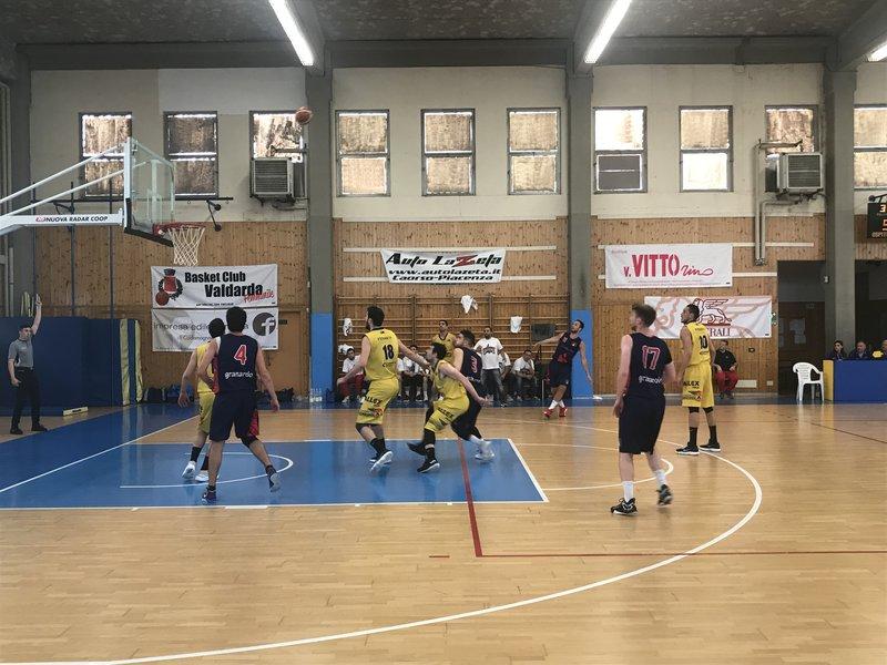 Il Bologna Basket 2016 cede a Fiorenzuola alla bella