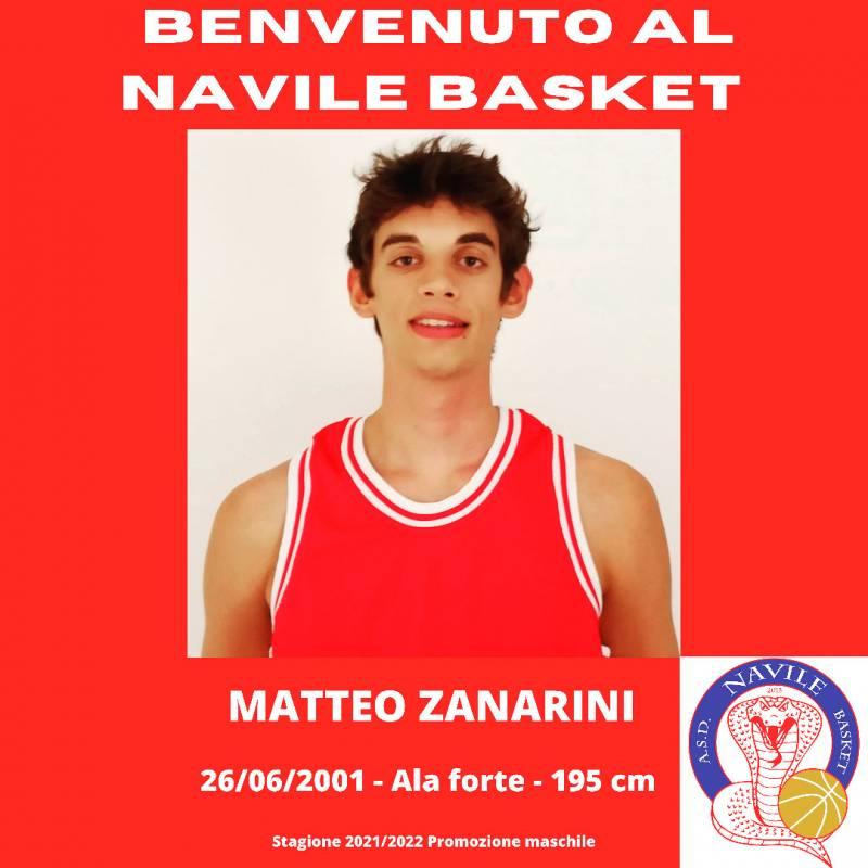 Matteo Zanarini, un giovane prospetto per il Navile Basket