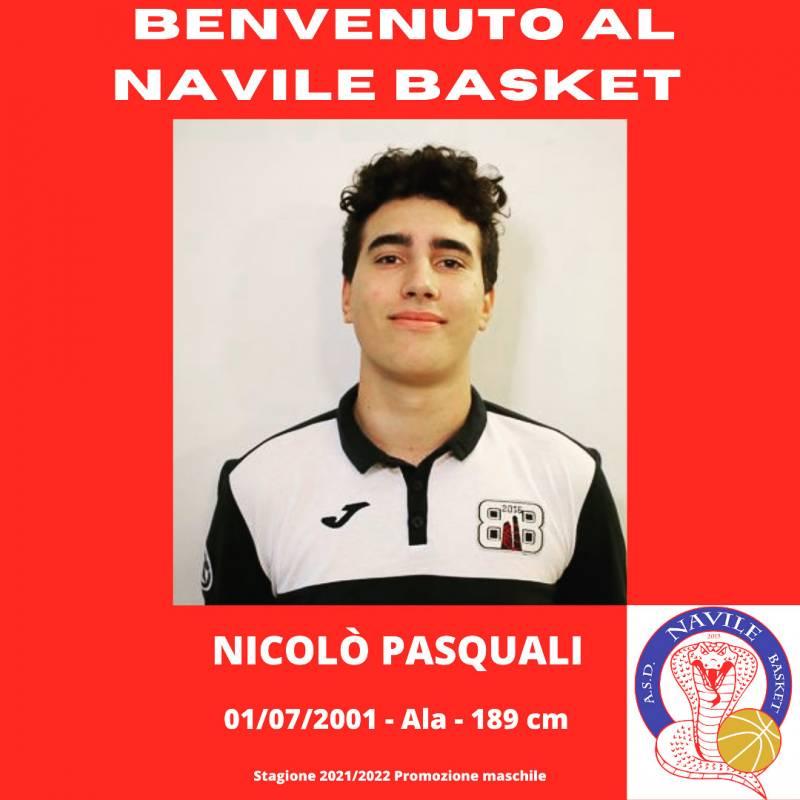 Nicolò Pasquali, un altro prospetto per rinforzare il Navile Basket