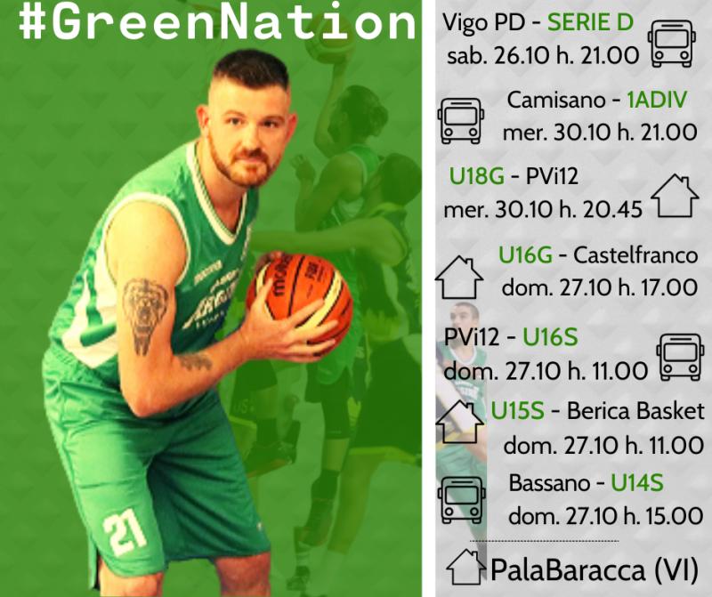 Il basket GREEN non si ferma mai!!