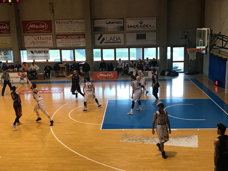 Il Bologna Basket 2016 cede alla Salus dopo due supplementari