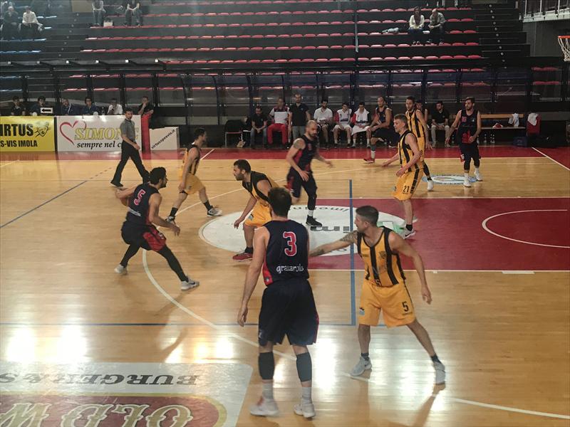 Virtus Imola senza patemi, Bologna Basket 2016 ai margini dei playoff