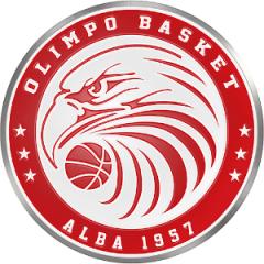Logo Olimpo Basket 1957 Alba