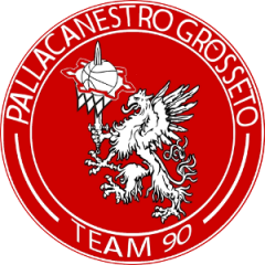 Logo Pall. Grosseto Team 90