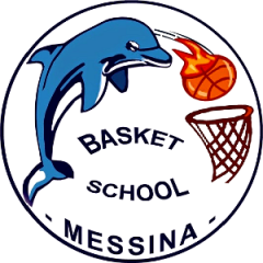 Logo Societ&agrave Basket School Messina A. Dil.