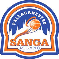 Logo Pall. Sanga Milano