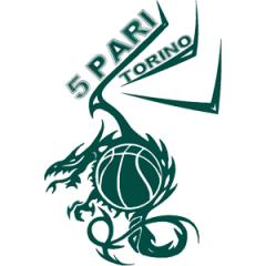 Logo Societ&agrave A.S.D. 5 Pari Torino