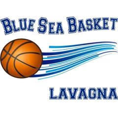 Logo Blue Sea Basket Lavagna