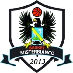 Logo Societ&agrave A.S.D. Basket Misterbianco