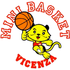 Minibasket Vicenza rosso