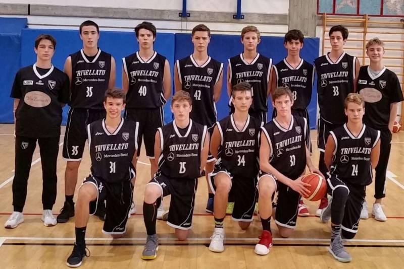 Foto squadra PetrarcaBasket 2018
