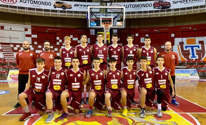 Foto squadra Pall.Trapani 2019
