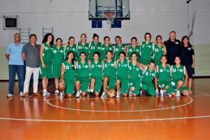 Foto squadra Thermal Basket 2012