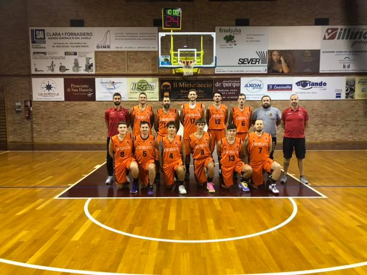 Foto squadra LibertasS.DanieledelFriuli 2020