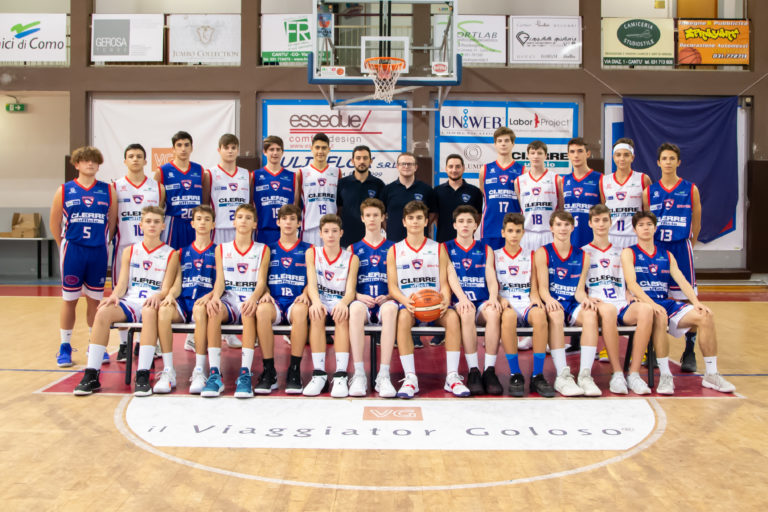 Foto squadra TeamAbcCantù 2019