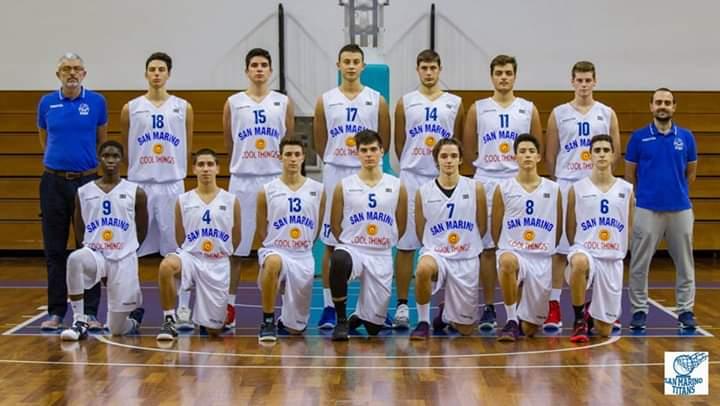 Foto squadra Pall.TitanoSanMarino 2019