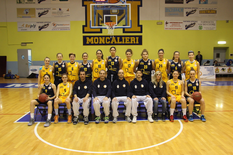 Foto squadra Moncalieri 2015