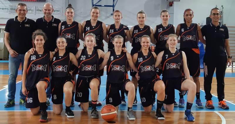 Foto squadra BkMontecchioMaggiore 2020