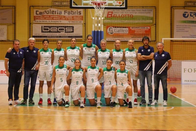 Foto squadra PonzanoBasket 2019