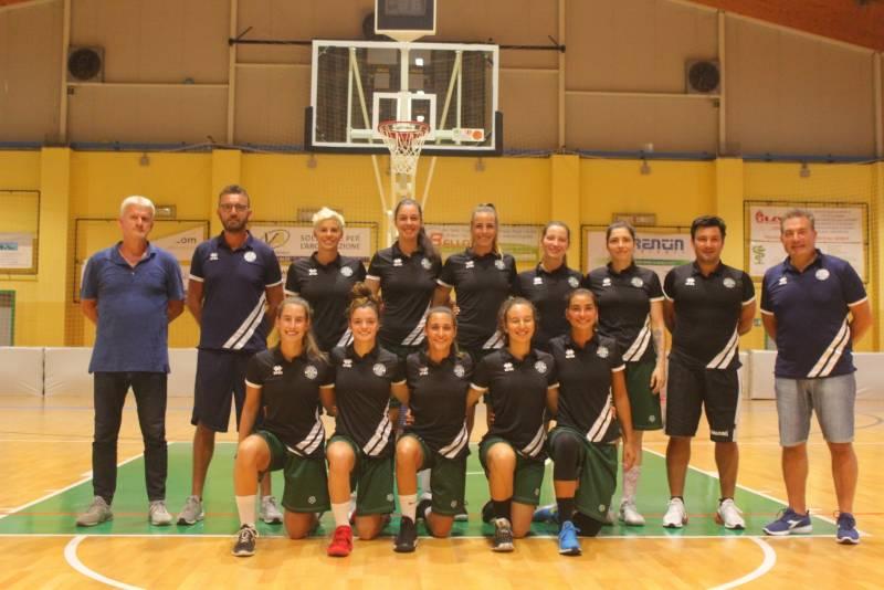 Foto squadra PonzanoBasket 2020
