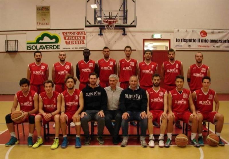 Foto squadra Camposampiero 2015