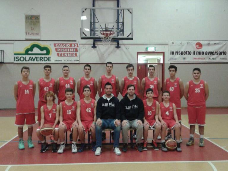 Foto squadra Olimpia Camposampiero 2015