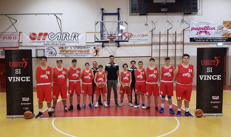 Foto squadra OlimpiaCamposampiero 2018
