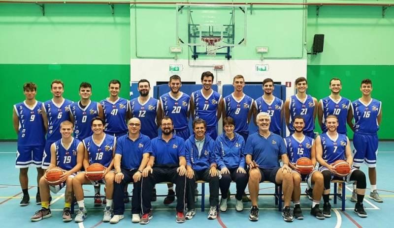 Foto squadra SettimoTorineseBK 2019