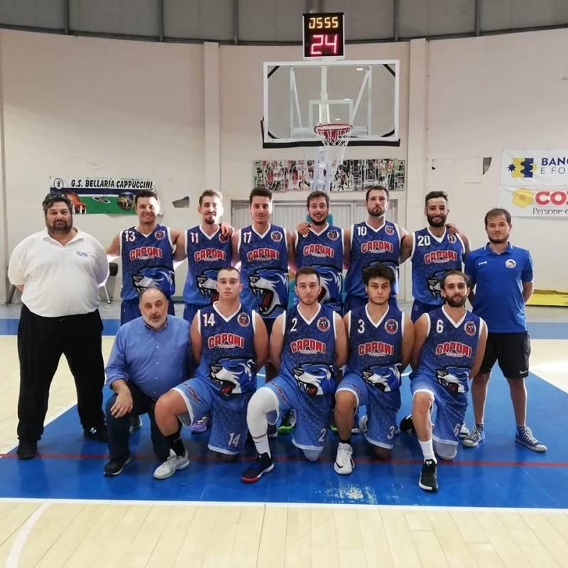 Foto squadra BasketCalcinaia 2020