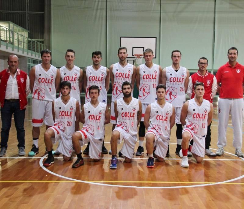 Foto squadra ColleBasket 2018