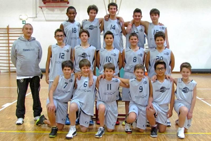 Foto squadra Castagnara Basket 2014