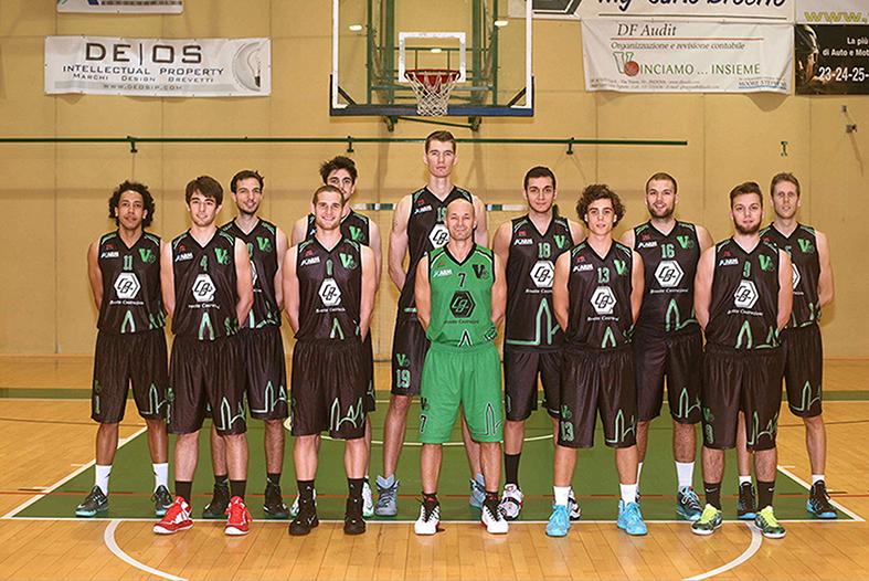 Foto squadra Virtus Padova 2015