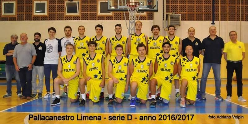 Foto squadra Limena 2017