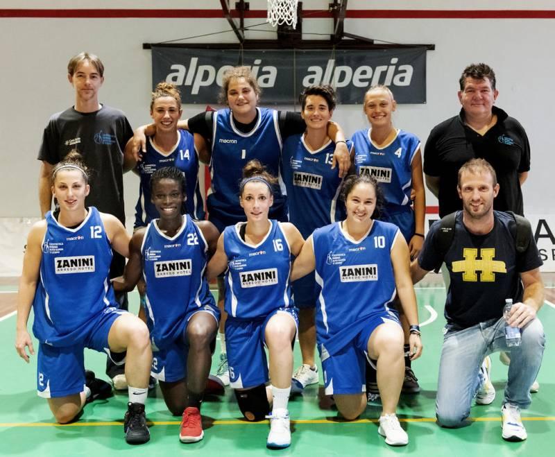 Foto squadra CestisticaRivana 2020