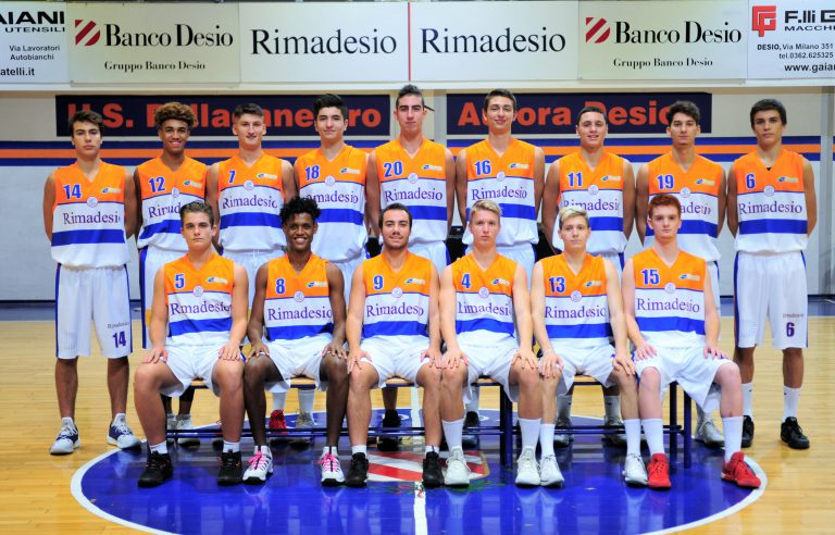 Foto squadra AuroraDesio 2019