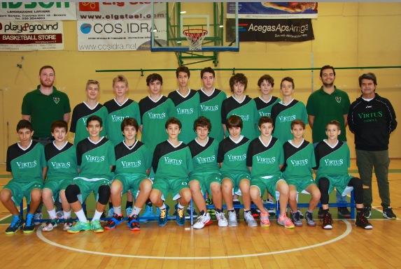 Foto squadra Pall. Rubano 2015
