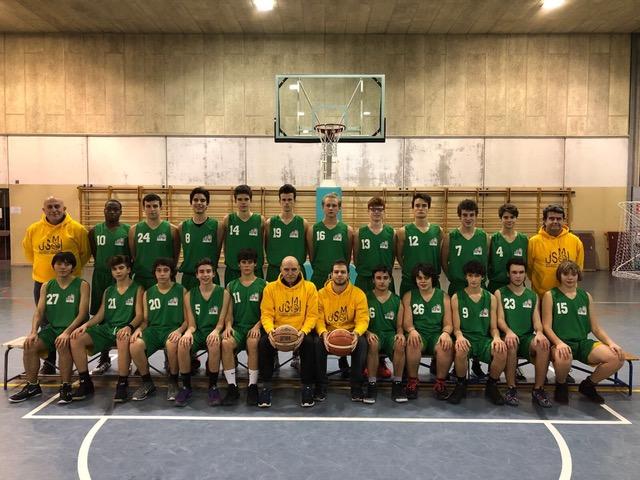 Foto squadra USMIBasket 2018