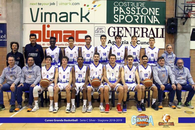 Foto squadra CuneoGrandaBK 2019
