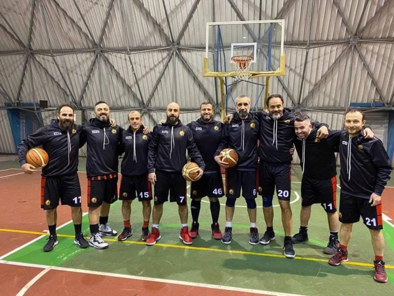 Foto squadra BasketNocera 2020