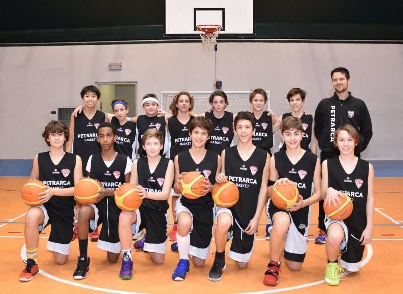 Foto squadra JuniorBasketPatavium 2016