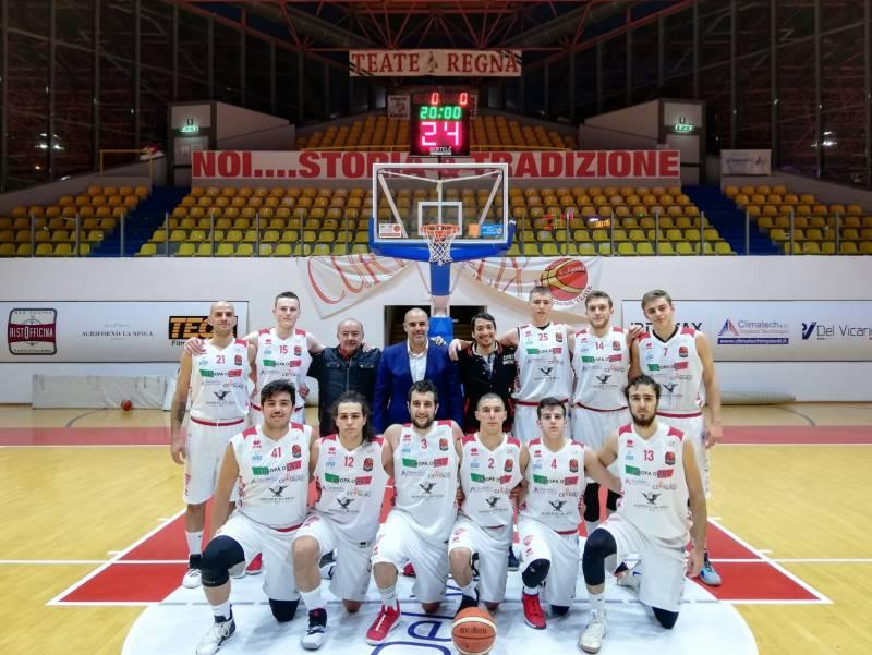 Foto squadra ChietiBasket 2019