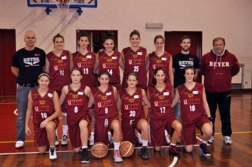 Foto squadra Orogranata Mestre 2013