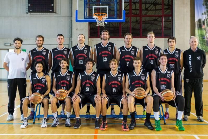 Foto squadra Petrarca Padova 2015