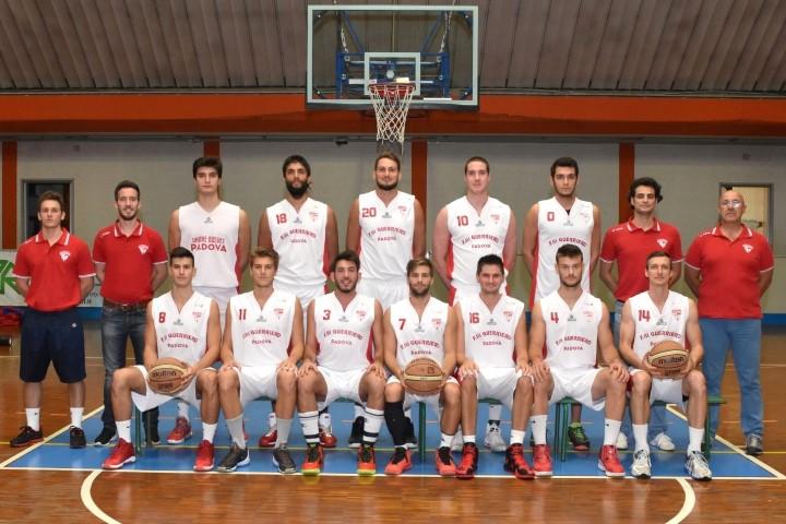 Foto squadra UnioneBasketPadova 2017