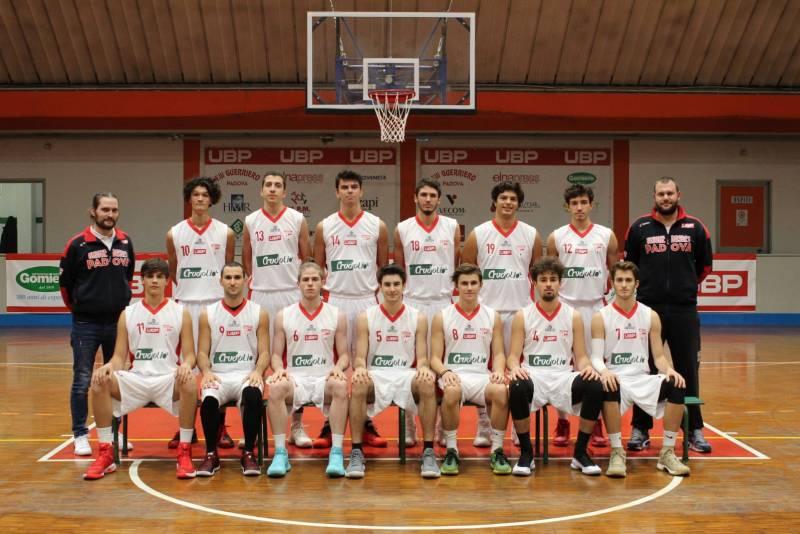 Foto squadra UnioneBasketPadova 2018