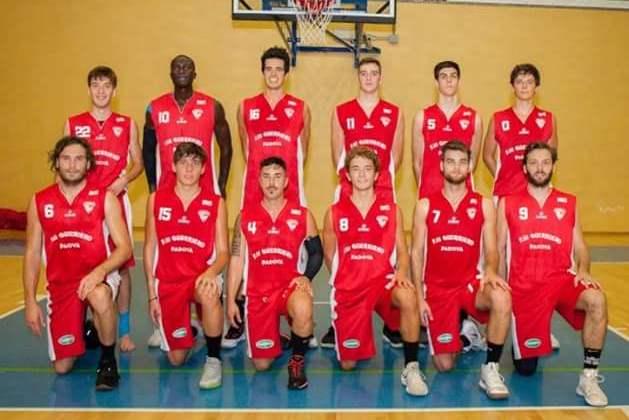 Foto squadra UnioneBasketPadova 2019