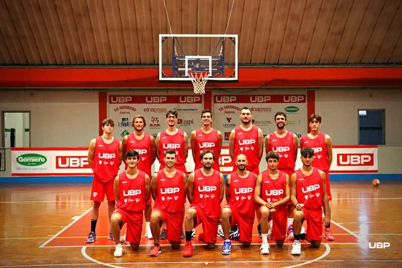 Foto squadra UnioneBasketPadova 2022