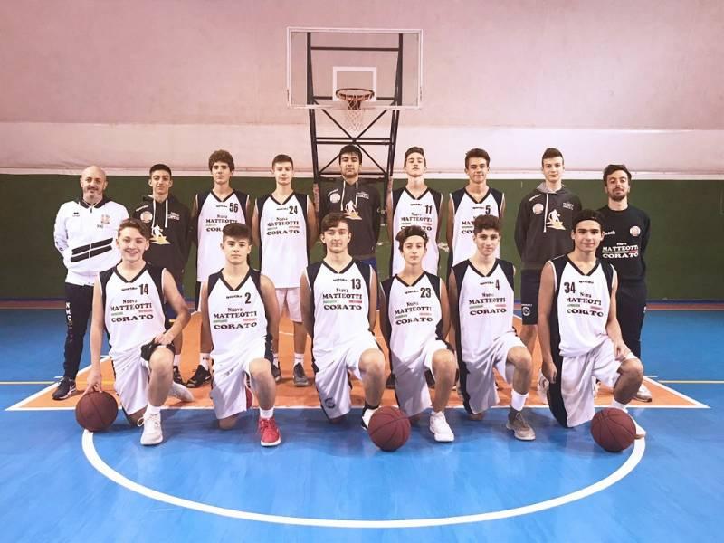 Foto squadra NuovaMatteottiCorato 2019
