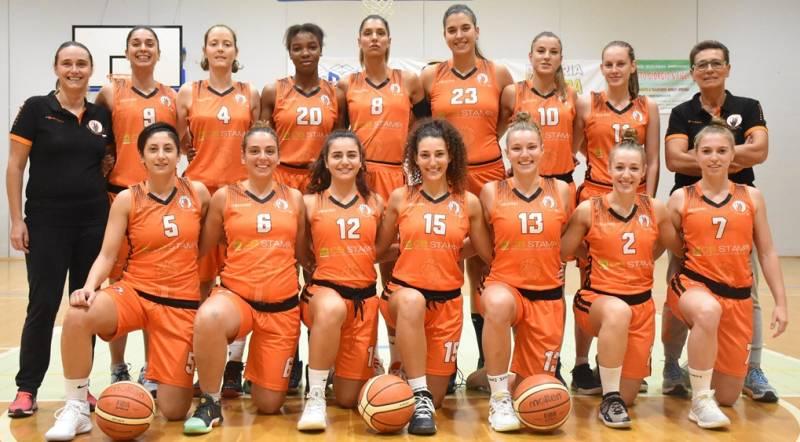 Foto squadra NuovaPall.Treviso 2020